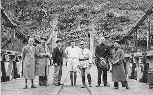 Henri Maux sur le pont de Pankiang (16 juin 1938)